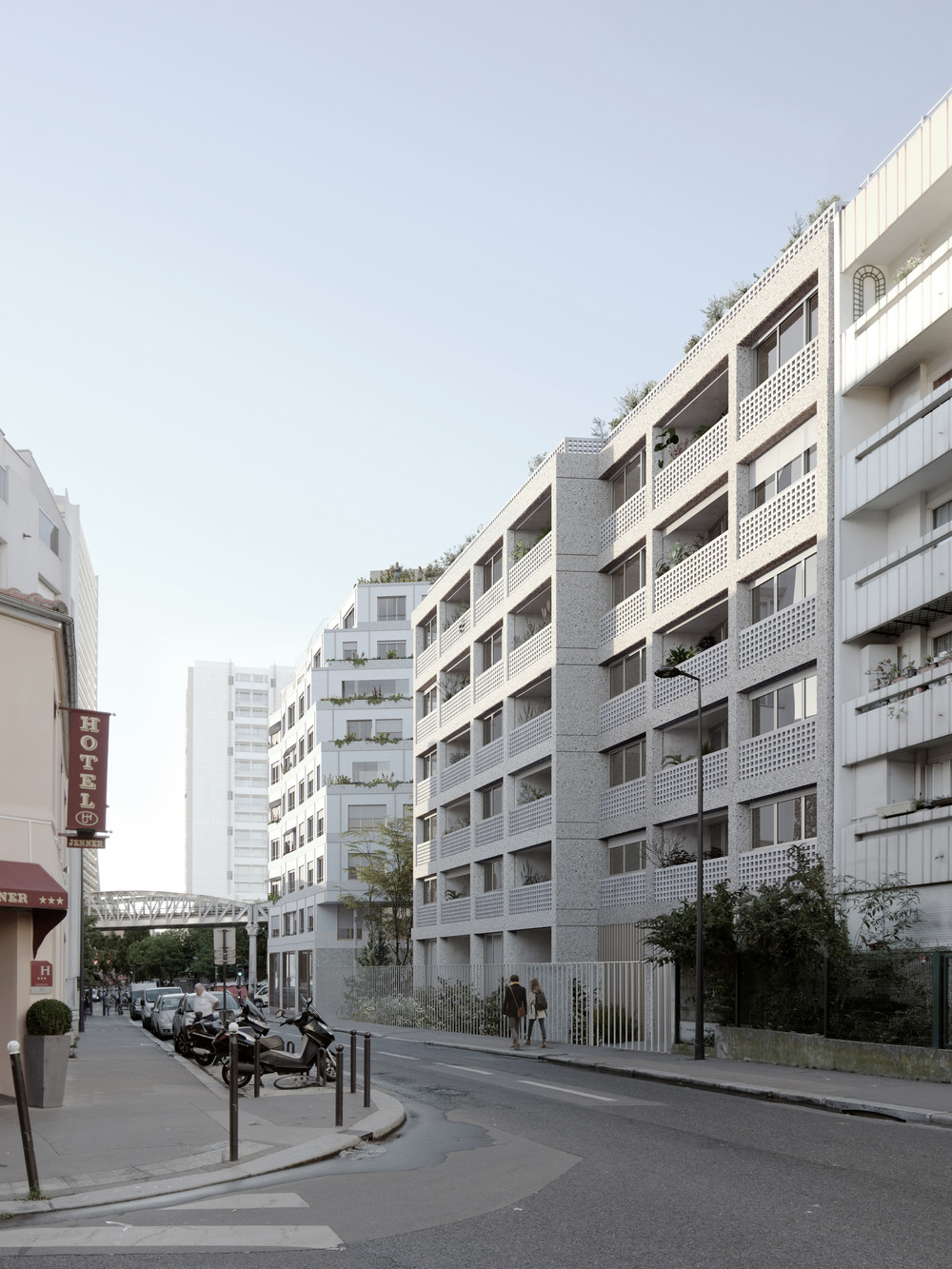 Blvd Auriol, Paris 13 - © JKLN Architecte