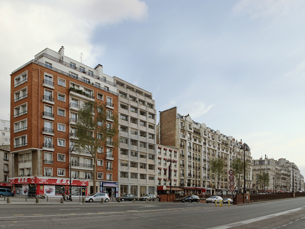Blvd Bessières, Paris 17 - © JKLN Architecte