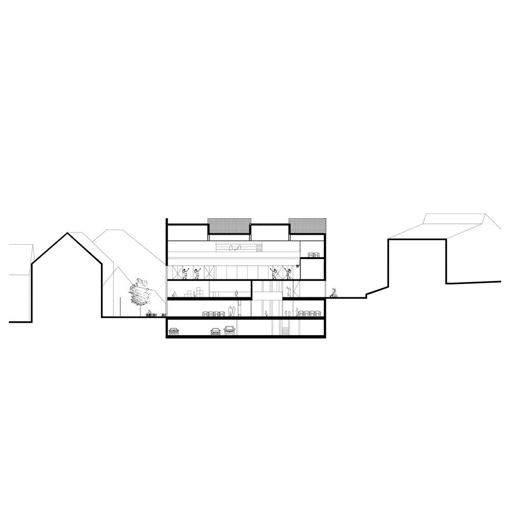Chemin de la Romanellaz, Crissier - © JKLN Architecte