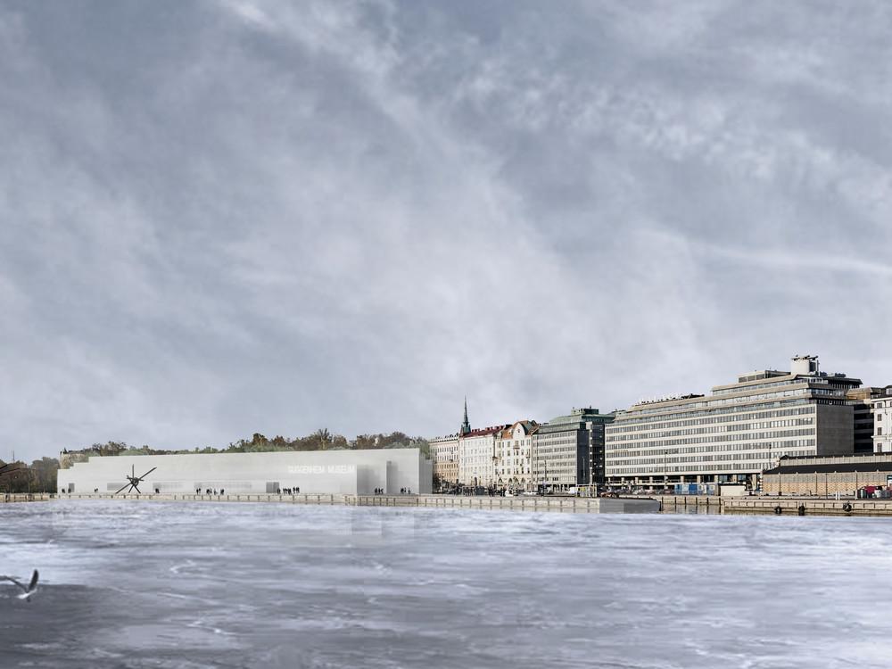 Eteläranta, Helsinki - © JKLN Architecte