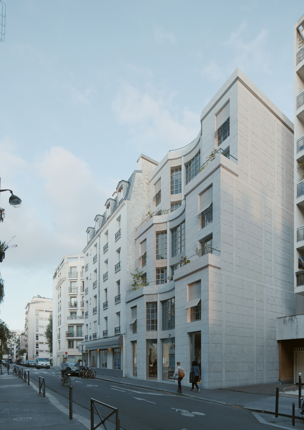 Rue des Bergers, Paris 15 - © JKLN Architecte