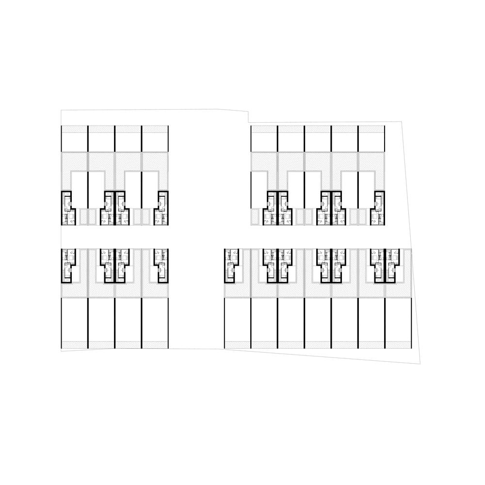 Rue des corons, Faymoreau - © JKLN Architecte