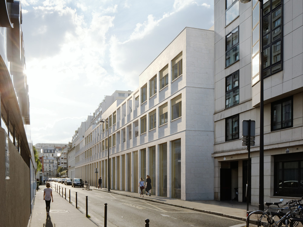 Rue Mousset Robert, Paris 12 - © JKLN Architecte