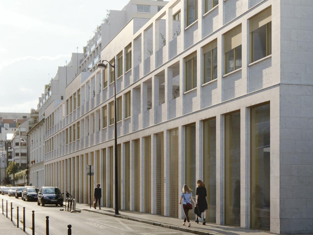 Rue Mousset Robert, Paris 12 - © JKLN Architecte